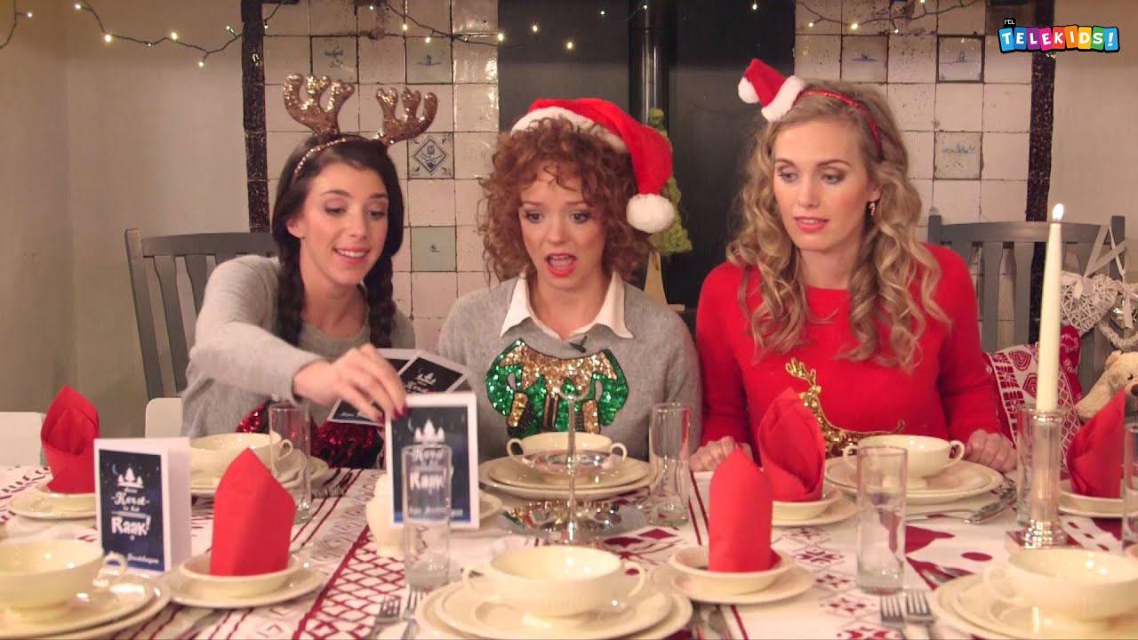 Serie Deze Kerst is het Raak! met Daan, Roos en Sharon.