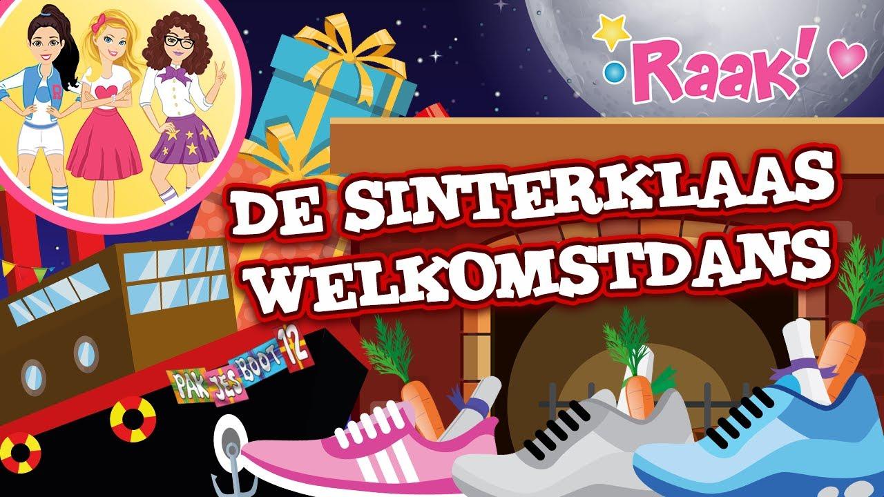 Videoclip De Sinterklaas Welkomstdans van Raak! en Kliederpiet (Team Sint)